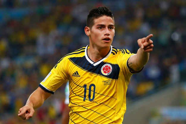 This is James Rodríguez. | 25 Reasons Colombia's James Rodríguez Should Be Your Favorite Person Ever