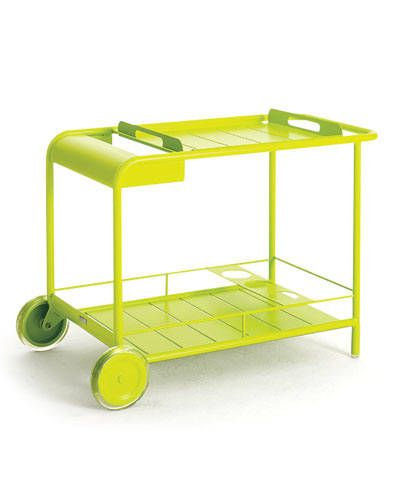 THE TOP 10 BAR CARTS: Luxembourg Bar Cart by Fermob.