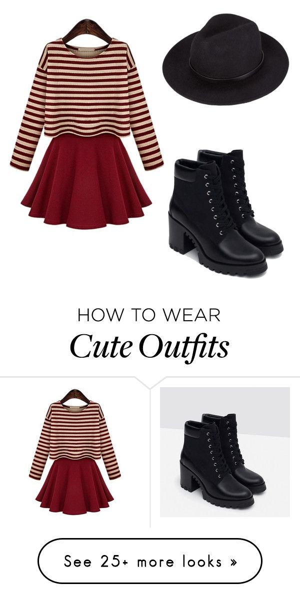 """Cute outfit"" by liza-ionova on Polyvore featuring Zara"