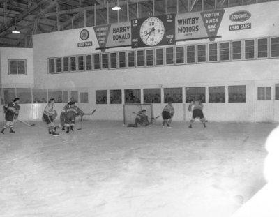 Whitby Dunlops Hockey Game, c.1950s
