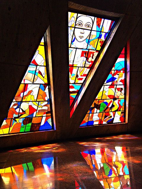 Vitrales-great stained glass windows!