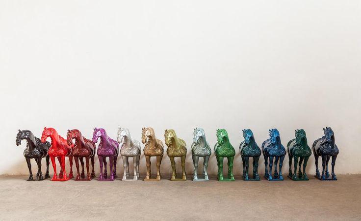 Ai Weiwei in mostra a Mantova. Fino al 6 giugno. In mostra a Palazzo Te di Mantova 46 opere inedite realizzate ad hoc dal maestro cinese.