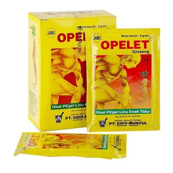 Jamu Opelet Ginseng SidoMuncul - Ber khasiat membantu pegal dan linu, melancarkan peredaran darah, Di jual harga agen murah  http://rumahjamu.com/jamu-tradisional-instan/132-jual-jamu-opelet-ginseng-sidomuncul-ber-khasiat-membantu-pegal-dan-linu-melancarkan-peredaran-darah-di-jual-harga-agen-murah.html  #sidomuncul #jamuopeletginseng #jamupegallinu #jamusidomuncul