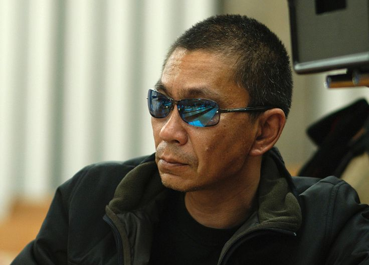 Takashi Miike.  Creates film where the actually story is somewhere in the visual periphery, NOT the script.  Visuals are brilliant and no one quite like him.