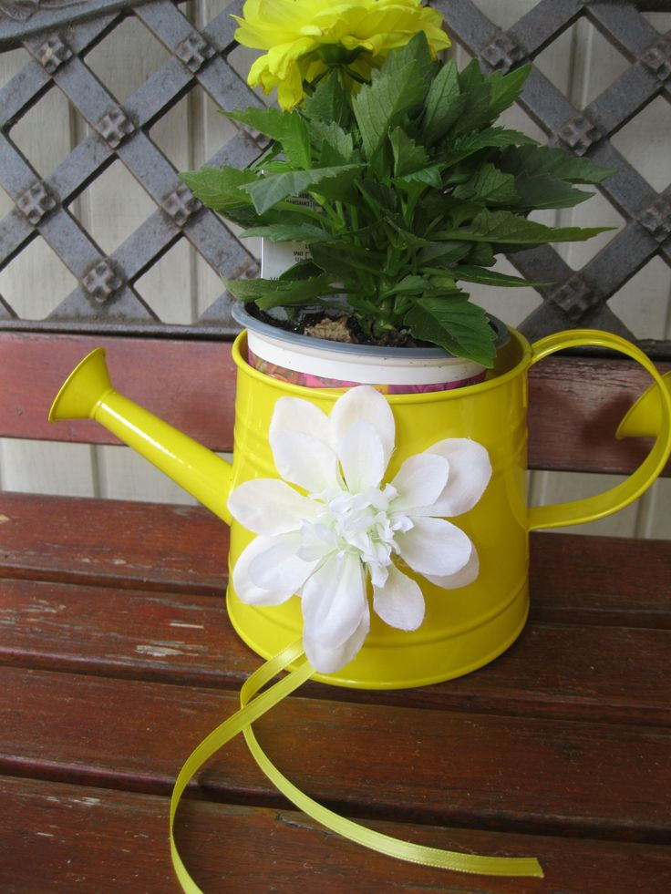 Spring Easter D Cor Watering Can 3 Target Flower Home Depot Turn A Watering Can Into A