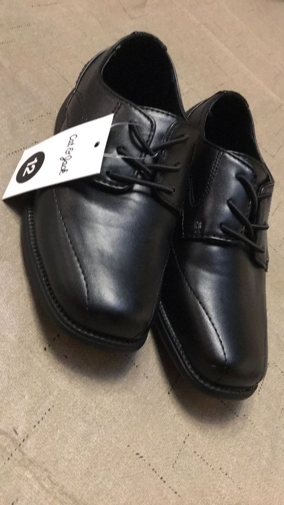 New Cat and Jack Boy Toddler Black Dress Shoes Size 12  fashion  clothing   shoes  accessories  kidsclothingshoesaccs  boysshoes (ebay link) 79d4f55090a0