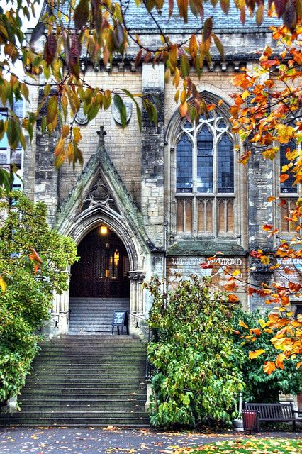 Hall Steps in early November- Balliol College, Oxford, UK