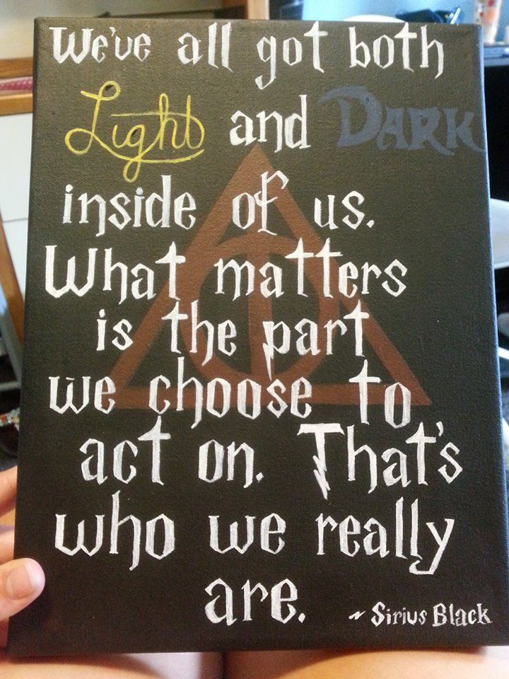 Harry potter canvas I painted for one of my sisters