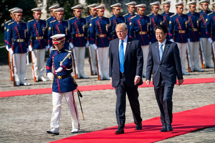 Trump Tells Japan It Can Protect Itself by Buying U.S. Arms