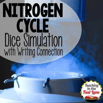Nitrogen Cycle Dice Simulation and Writing Connection $ Help students understand the Nitrogen Cycle and connect their learning.