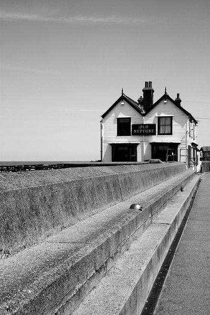 Beach bar in Whitstable, Kent