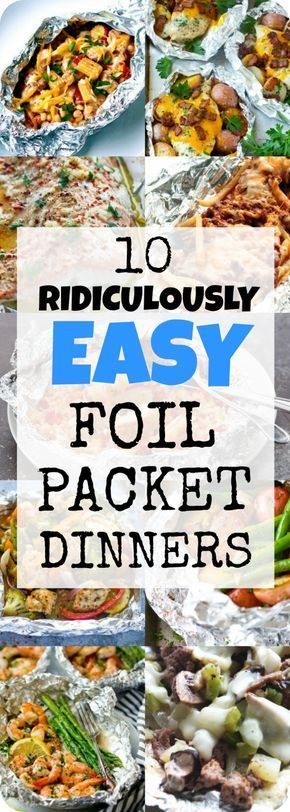 From salmon to chicken and fries loaded with slow cooker, these easy packages …   – Recipes to Try