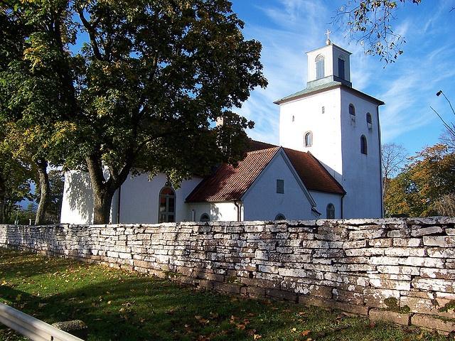 Church, Öland, Sweden by Ottmar, via Flickr