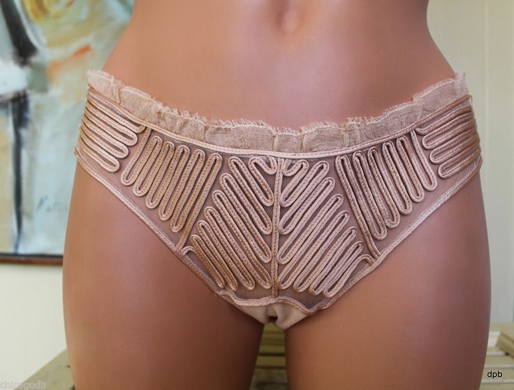 "La Perla ~ JP Gaultier ""Feuillage"" silk panty...sold out everywhere else! We have 1 remaining 60% Off at Katerina's Closets -eBay Shop."
