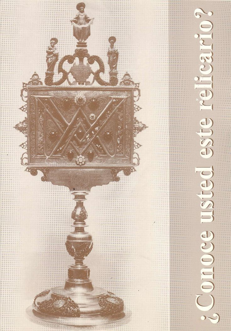 ¿Conoce usted este relicario?Tortosa : Asociación Historiador Enrique Bayerri Bertomeu, 1993