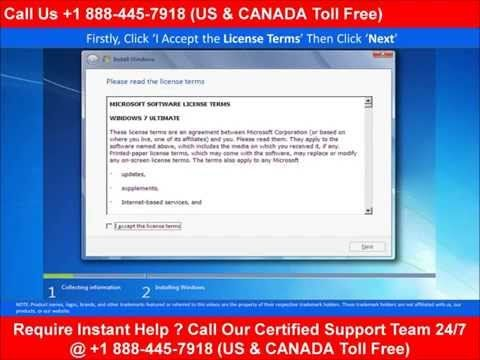 Know How to Install #Windows7 ? Dial +1 888-445-7918 to Hire Certified Technician