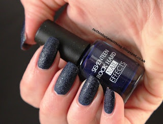 seventeen rock hard nail effects - blue