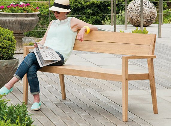 Tivoli Bench   Perfect For Any Outdoor Space