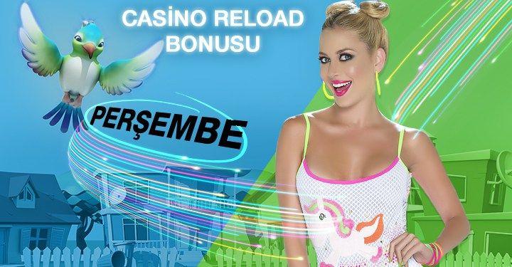 Bugüne Özel Casino Reload Bonusunuzu Aldınız Mı? Birbirinden canlı ve eğlenceli casino oyunlarına bugün daha çok heyecan katabilirsiniz. Kazanma sevincinizi duble yaşamak için Superbetin Casino sizleri bekliyor. Yüzlerce Casino oyununu...