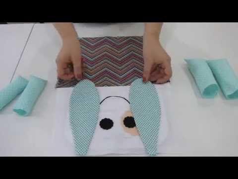 Como fazer naninhas para bebê | Cantinho do Video Costura em Roupas