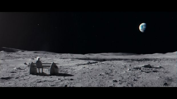 John Lewis . Man On The Moon .