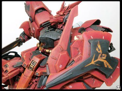 MSN-04S Scalebane Sazabi Custom Build   by Ambrose Cheng's blog   WORDS FROM THE MODELER Designing the Scalebane The idea of Scalebane comes...