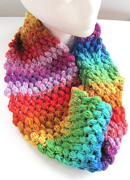 Rainbow Cowl Knitting Pattern : 141 best Knitting & Crochet - Zibbet images on Pinterest Knit crochet, ...
