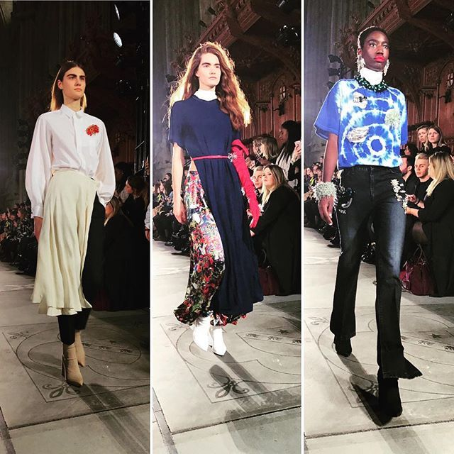 Parola d'ordine: #MixandMatch alla sfilata di @togaarchives live dalla #lfwaw17 - @valentinamariaelisabetta via ELLE ITALIA MAGAZINE OFFICIAL INSTAGRAM - Fashion Campaigns Haute Couture Advertising Editorial Photography Magazine Cover Designs Supermodels Runway Models