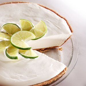 Key lime pie -no baking-