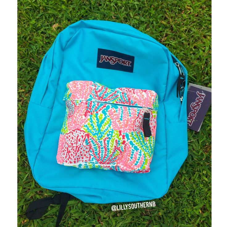 @LillySouthernB on Instagram! Lilly pulitzer hand painted backpack!