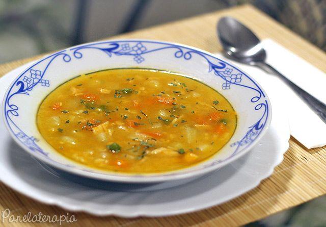 PANELATERAPIA - Blog de Culinária, Gastronomia e Receitas: Caldo de Frango com Legumes
