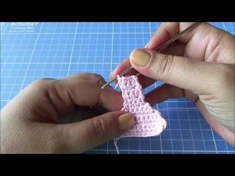 Calcinha em crochê para Blythe passo a passo - YouTube