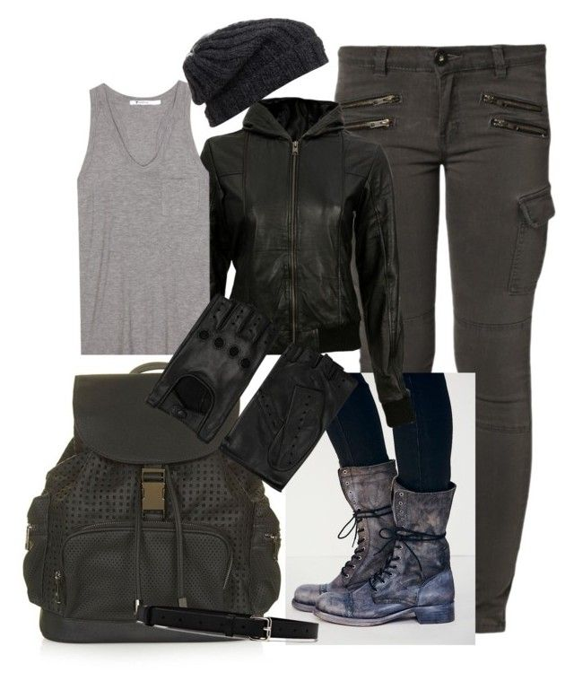"""""""Octavia Blake"""" by lianna-sandberg ❤ liked on Polyvore featuring Liebeskind, Free People, VIPARO, T By Alexander Wang, Topshop, AGNELLE, Jil Sander and Grevi"""