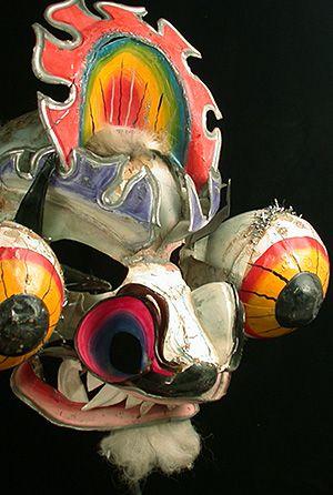 Damn Scary Devil mask; Carnival, Oruro, Bolivia