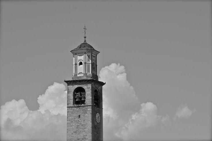 Il campanile di #Invorio black and white ( #Novara #Piedmont #Italy ) #black&white