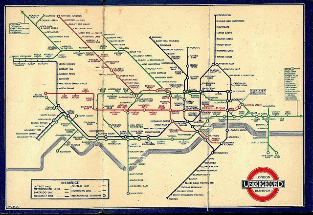 Beck's Tube Map