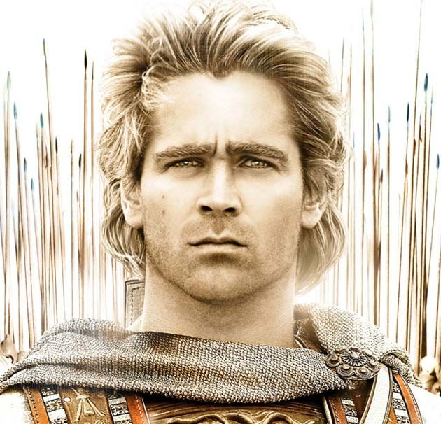 Alexander the Great Movie Gay Colin Farrell