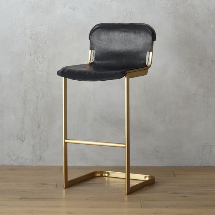 leather jacket. The Rake Brass Barstool was designed exclusively for CB2 in…