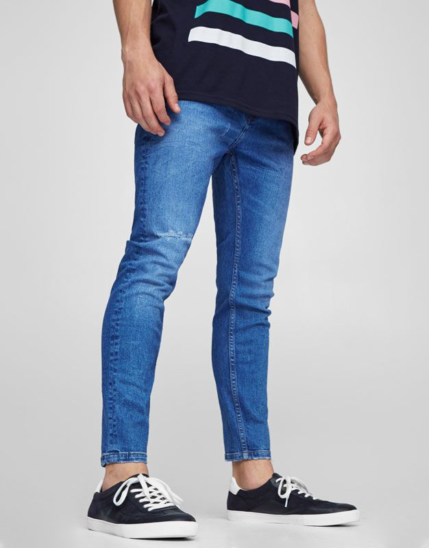 Karottenjeans - Jeans - Kleidung - Herren - PULL&BEAR Deutschland