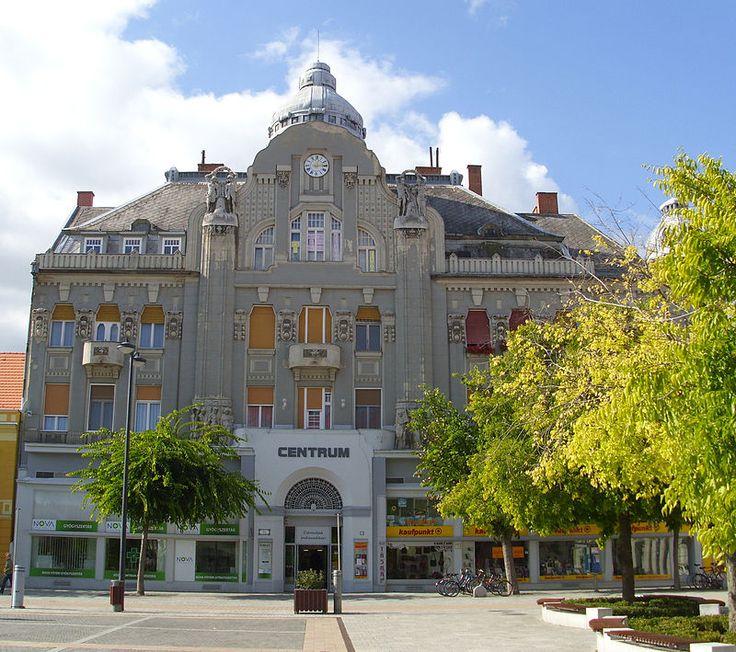 Former savings bank building, Szombathely