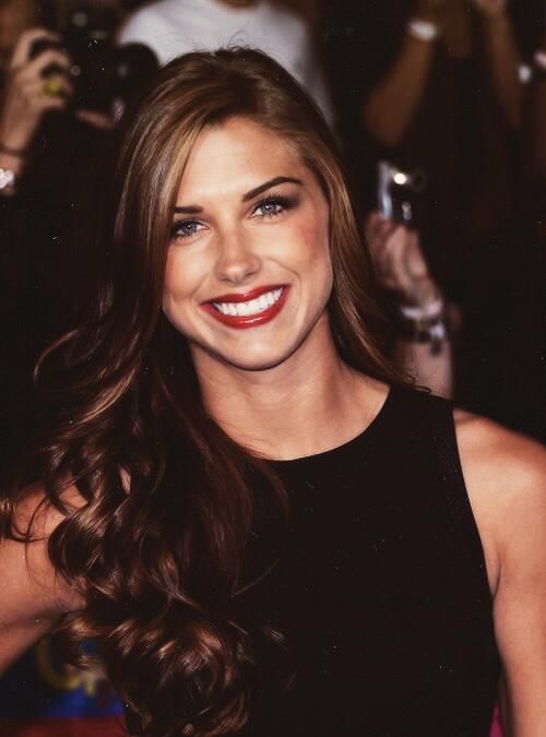 Alex Morgan; and she plays soccer.  Nuff said.