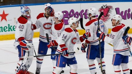 Habs clinch Atlantic division with victory over Panthers