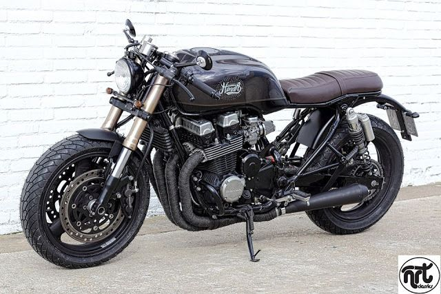 ϟ Hell Kustom ϟ: Honda CB750 By ÑRT Classics