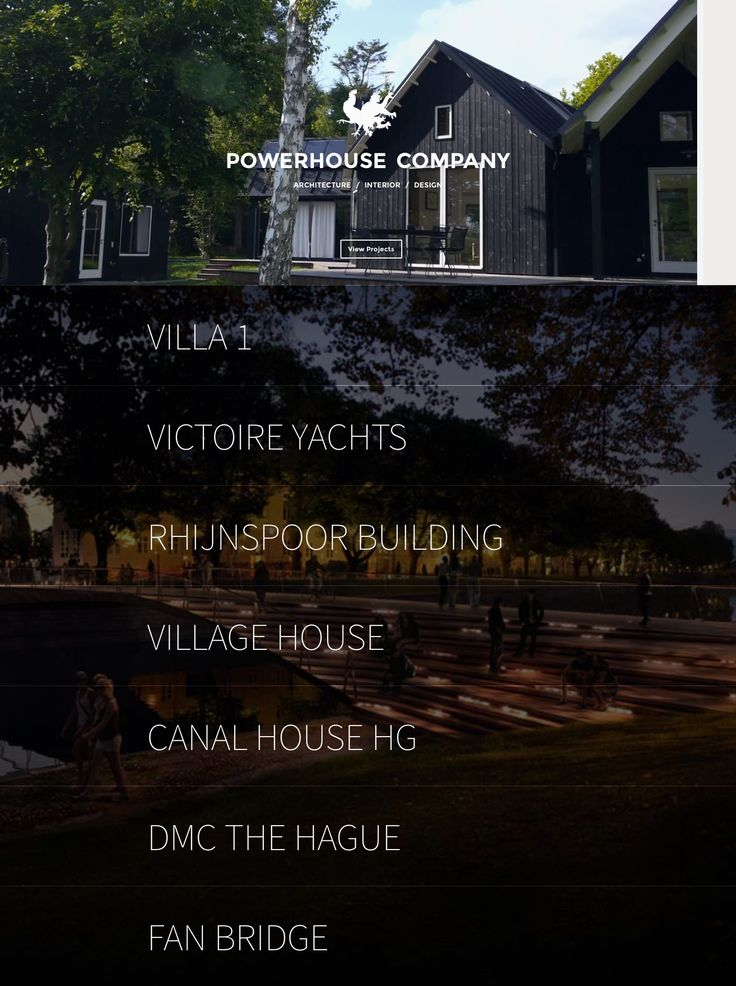 Powerhouse Company \\ Beautiful minimalist web design & clean responsive.
