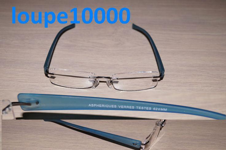 lunettes loupes de lecture prémontées grossissantes réf 1223R N° 183B