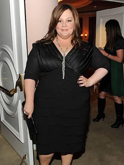 Bridesmaids star Melissa McCarthy wearing a Stella & Dot Adrienne Mixed Chain Necklace at an event in LA