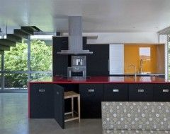 Woodvalley House - Kitchen - contemporary - kitchen - baltimore - Ziger/Snead Architects
