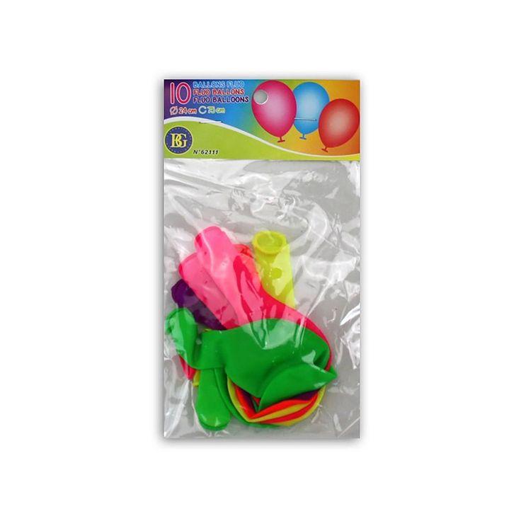 Bunte Ballons kann man nie genug haben! Deswegen haben wir hier das nächste Angebot für Euch! 10 neonfarbige Luftballons aus Naturlatex, die auf keiner Party fehlen dürfen. Einmal mit Luft oder Helium gefüllt, haben sie einen Umfang von ca. 75 cm und einen Durchmesser von ca. 24 cm. Das Latex aus Naturkautschuk ist besonders dehnbar und geschmeidig. Die Farben sind im trendigen Neon und fallen überall auf. Wir empfehlen, die Luftballons mit einer Pumpe aufzublasen, anstatt mit dem Mund.