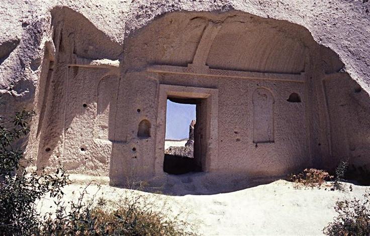 Casa rupestre. Cappadocia. Turchia
