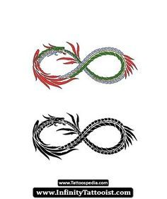 infinity tattoo for men - Google Search